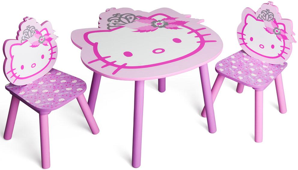 Hello Kitty Tapete Auf Rechnung : Hello Kitty Sitzgruppe 1 Tisch + 2 St?hle Kinderm?bel M?bel Set